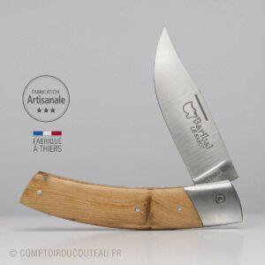 Couteau Baribal Loupe de Genévrier mitre inox