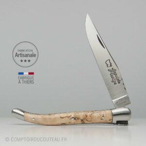 Couteau Laguiole Prestige Bois bouleau de Finlande