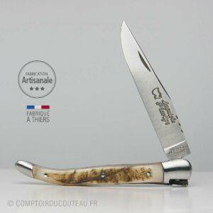 Couteau Laguiole prestige corne de bélier