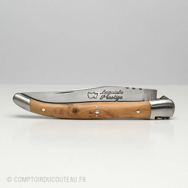 couteau Laguiole loupe genévrier