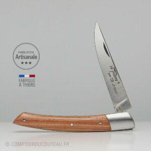 Couteau le Thiers en Bois de Rose 1 mitre inox