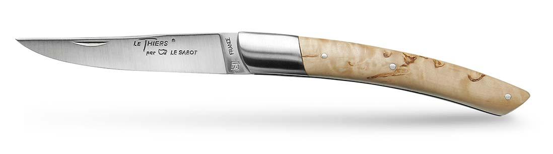 couteau Le Thiers Bouleau de Finlande 1 Mitre
