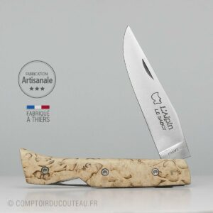 Couteau Alpin Sécurisé bouleau de Finlande