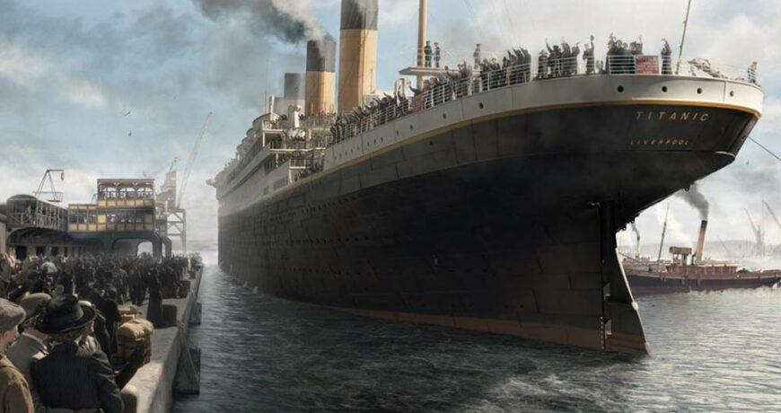 vestiges du titanic