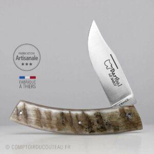 couteau Baribal manche corne de bélier