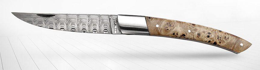les couteaux lame damas sur comptoirducouteau.fr