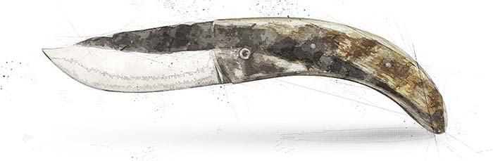 couteau corse de berger