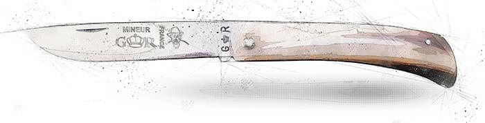 couteau le mineur