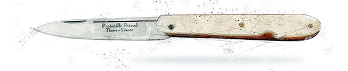 couteau le rouennais